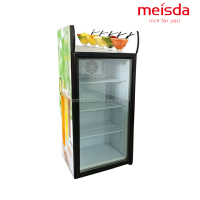 used convenience store beverage display fridge