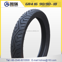 hot sale high quality motorcycle tyre casing 90/90-18