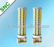 Shenzhen SNC smd2835 g12 led lamp 10w with remote driver mini led corn bulb replace 70w HPS