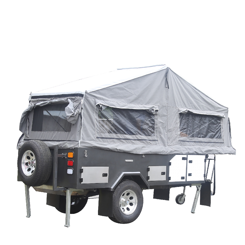 4 x 4 off Road Truck Camper Trailers with Stainless Steel Kitchen