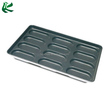 12 Cavity Non-Stick Custom Full Sheet Hot Dog Pan