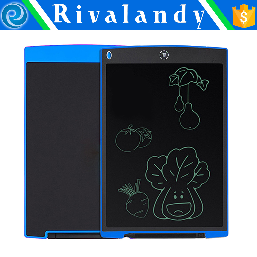 8.5 Inch LCD Screen Electronic Kids Drawing Writing Tablet 6 Colors Reusable Fridge Magnetic Message Board With Stylus Pen