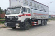 China 6x4 15CBM Cheap Price 15000 Liters oil tank fuel tanker truck for sale