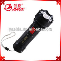 Plastic 0.5w high power led flashlight rechargeable