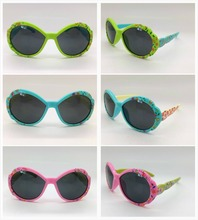 Cheap Soft Rubber Cute Sunglasses for babies or kids