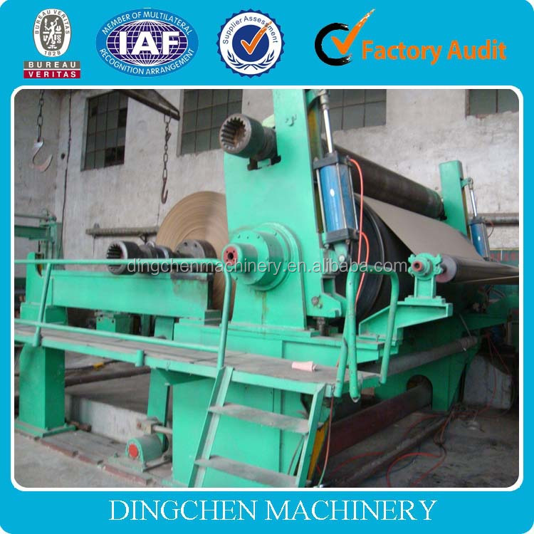 China 2400mm- 4000mm twin wires / triple wires / four wires kraft liner paper making machine