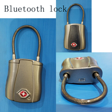 TSA 549B produce New smart cable bluetooth lock padlock