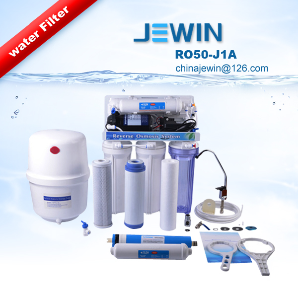 Undersink Type RO Water Filter with ro membrane tank faucet for direct drinking