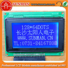 high resolution graphic STN reflective lcd module