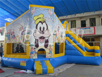Goffy bouncer combo, jumping castle inflatable combo, commercial inflatable bouncer combo