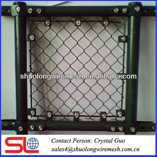 Export grade!!! wire green flower bed fence,green flower chain link fence