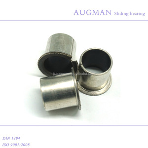 Oilless bearing bush, split flange slide bearing bushing