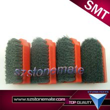 Diameter 100mm diamond brush stone polishing brush