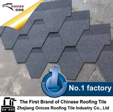 ONICES Fiberglass Asphalt shingle, High Quality Milano Stone Coated Metal Roofing Tile