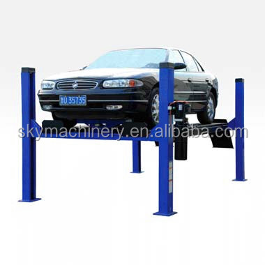 Hot Sale Hydraulic Garage Used 4 Post Car Lift for Sale/Auto Body Lift