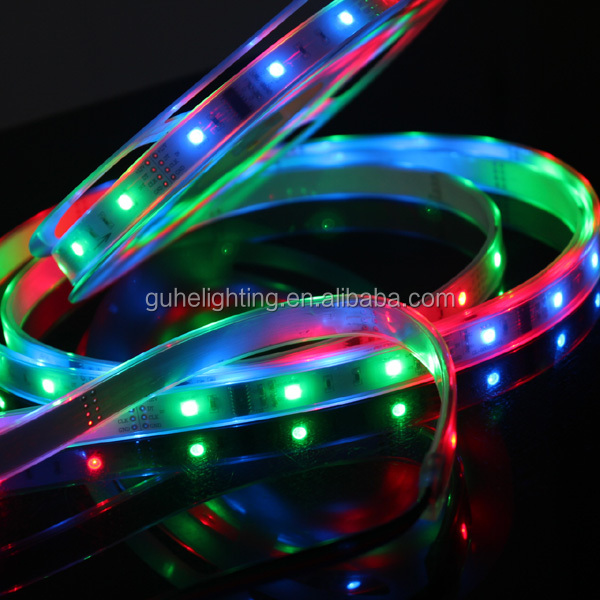 12v rechargeable battery led strip with high quality