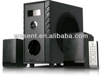 Hot sell model 2.1 speaker , surround sound system