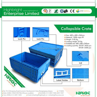 durable plastic foldable container