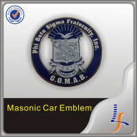Custom cool Masonic Zinc Alloy Nice Souvenir Car Emblem