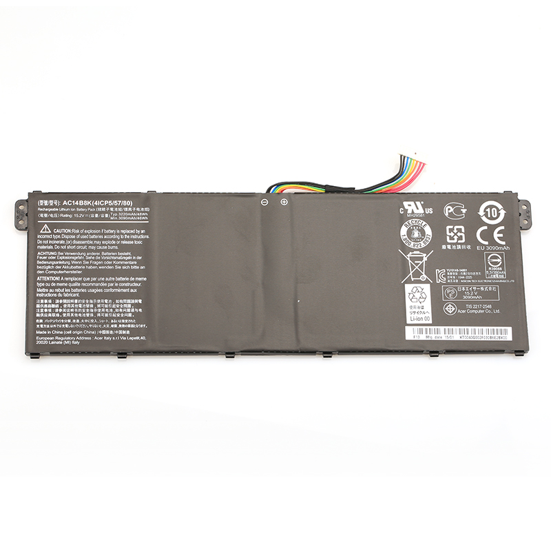 Original Genuine Laptop Battery AC14B8K For Acer E5-771G R13 R7-371T V3-371 TravelMate P276-MG-56FU V3-371-55GS P276 P276-MG