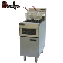 Manufacture Fat Chicken Chips 2 Fryer Basket Commercial French Fries Electric Deep Fryer Without Oil Filter