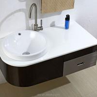 Stainless steel luxury bathroom sanitary ware style selections vanity top