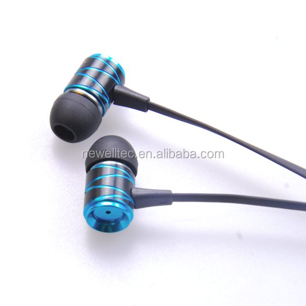 New Style In-ear Stereo Earphones, Mobile phone best sound Earbuds with Mic