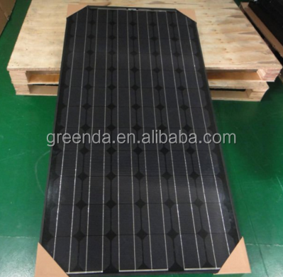 High Efficiency New-Tech All Black 150W 250W 300W Mono Solar Module PV Solar Panel
