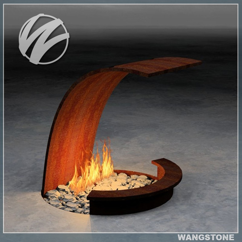 Corten Steel Fire Pit Corten Steel Fire Pit ... - Vintage Rectangular Outdoor Corten Steel Fire Pit - Buy Corten Steel