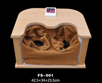 2015 Far Infrared Foot Saunas frequency spectrum wooden electronic foot massager