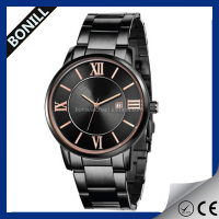 Made in china quartz watches stainless steel watches men for wholesale, vogue watch