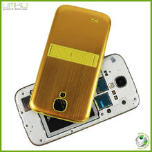 original Brushed metal stand battery door back cover case for Samsung Galaxy S4 I9500