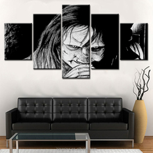Halloween Modern simple printing canvas wall art 5 pieces without frame painting