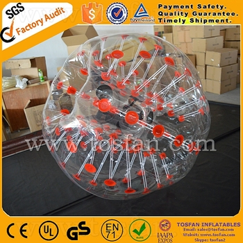 Outdoor Toys & Structures Type 2016 buddy bumper ball for kids and adults TB197
