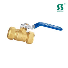 chemical plants ductile iron pfa lined ball valve lead free brass mini