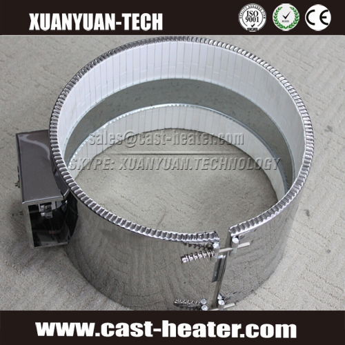 Energy efficient ceramic band heater