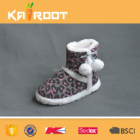 new design knitted producer suede winter boots for women