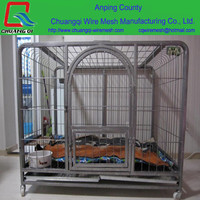 "factory direct sell 24"" 30"" 36"" 42"" 48"" Large Outdoor Metal Dog Cage, Metal Folable Pet Cage"