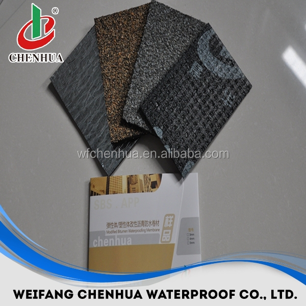 Cheap Industry material torch on APP SBS basement waterproofing asphalt roofing sheets