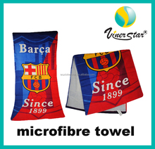 Custom Made Personalized Brand Promotional Competitive Logo Printing Microfiber Gym Towel