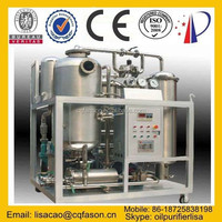 Automatic operation demulsifying cooking oil filtration system