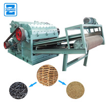 Nail Removing Functional Wood Pallet Crusher Machine|Wood Pallet Crusher Machine