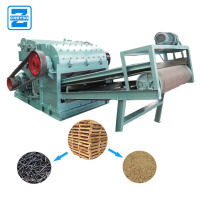 Nail Removing Functional Wood Pallet Crushing Machine | Wood Pallet Crusher Machine
