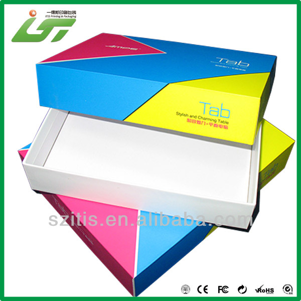 Chinese custom handmade clothes packing special box