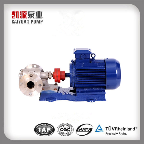 2CY/KCB oil viscosity-less 1500Cp Stainless Steel Gear pumps