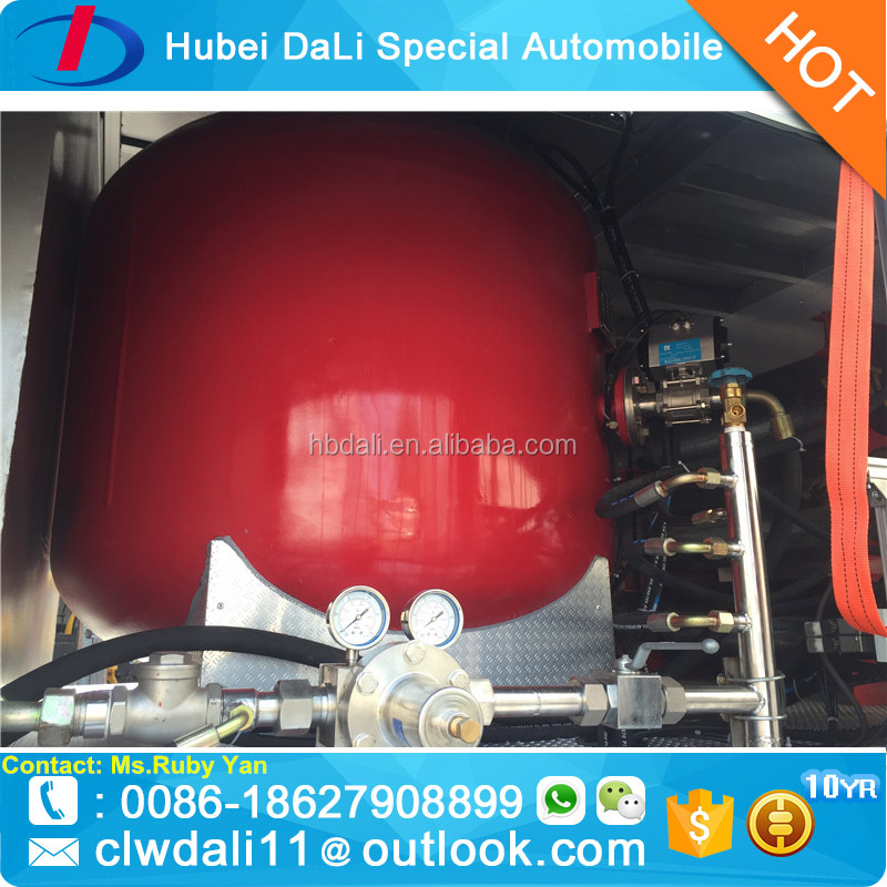 High Performance Dongfeng Fire Fighting Vehicle for sale