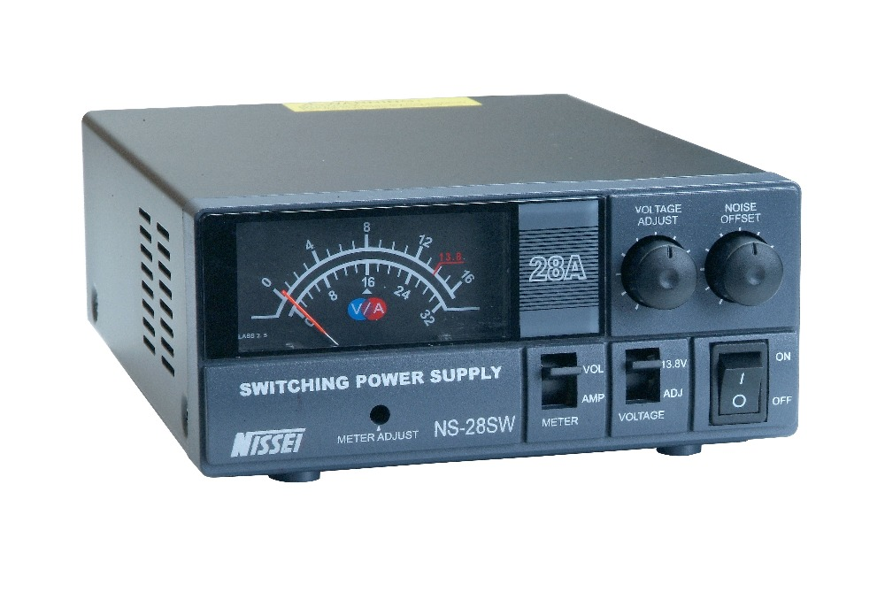 Digital / Analog display DC regulated 30A switching power supply