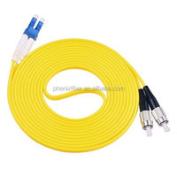 High quality Top sale optical Jumper cable SM Fiber optic FC-LC patch cord