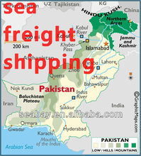 customs clearance service from Shanghai to Pakistan