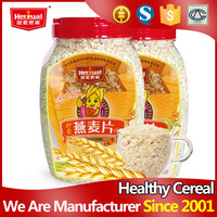 Wholesale family bottle packing instant oatmeal sugar free drink